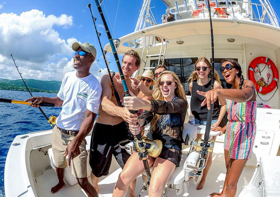 Deep Sea Fishing at South Beach Hotel Christ Church, Barbados