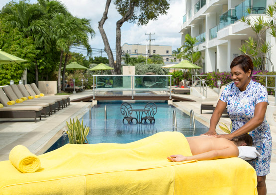 In Room Spa Services at South Beach Hotel Christ Church, Barbados
