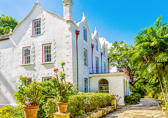 St. Nicholas Abbey at South Beach Hotel Christ Church, Barbados