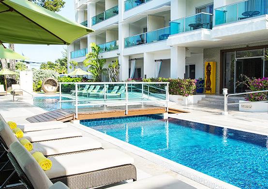 Swimming Pool at South Beach Hotel Christ Church, Barbados