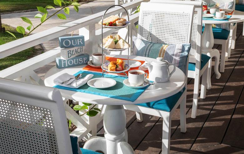 Afternoon Tea Cerulean Restaurant at Sea Breeze