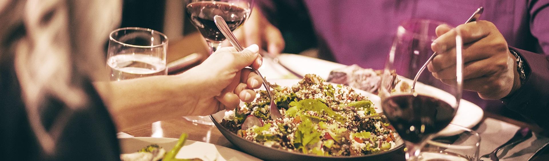 Dining at Ocean Two Resort