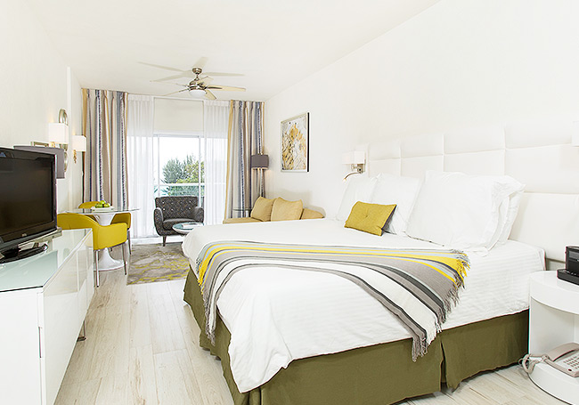 Junior Suite at South Beach Hotel,Christ Church, Barbados