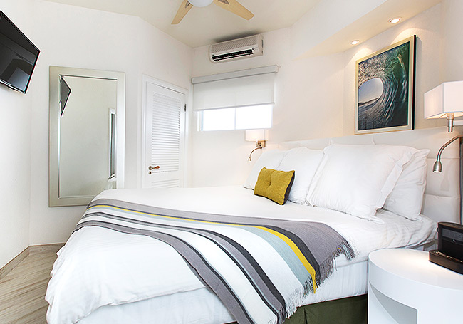 1 King Bed + Queen Sofa Bed at South Beach Hotel,Christ Church, Barbados
